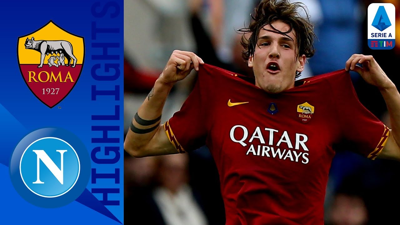 Roma 2-1 Napoli | Giallorossi Hold on to Earn Valuable 3 Points | Serie A