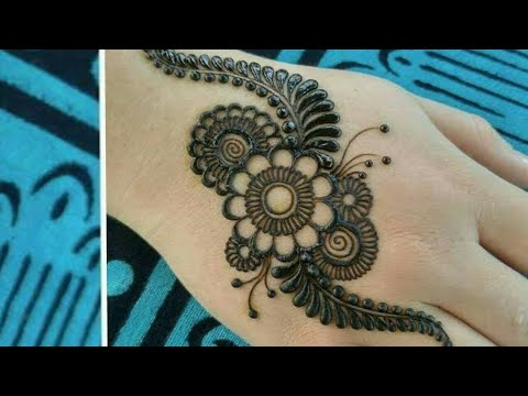 Simple Arabic Mehndi Art Designs For Hands 2019 New Latest Floral