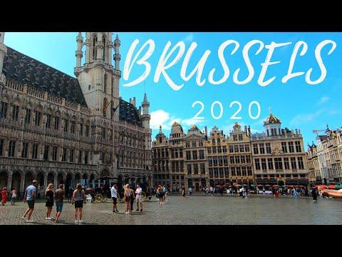 Brussels after lockdown - 2020