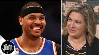 There's a chance the Knicks could bring Carmelo Anthony ... someday - Ramona Shelburne | The Jump