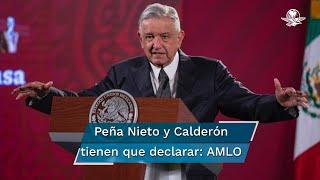 El Presidente Andrés Manuel López Obrador dijo que todos los presuntos implicados por sobornos deberán comparecer