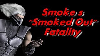 mortal kombat 9 2011 smoke s smoked out fatality performed on all characters
