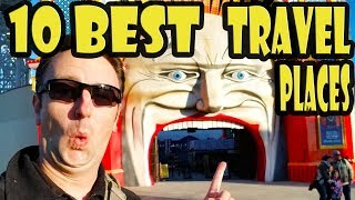 10 Best Places to Travel in the World & 20K Subscriber Celebration!