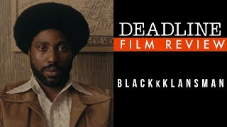 'BlacKkKlansman' Review - John David Washington, Adam Driver