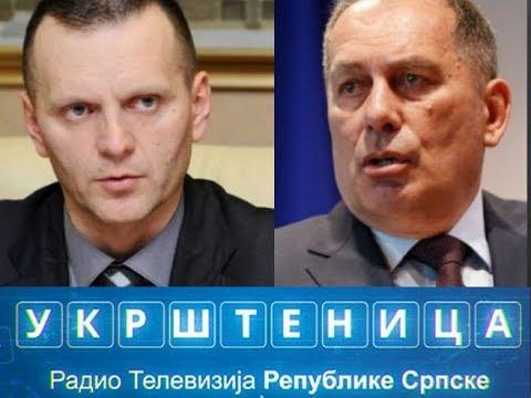Ukrštenica  - gosti: Dragan Lukač i Dragan Mektić #RTRS #promo