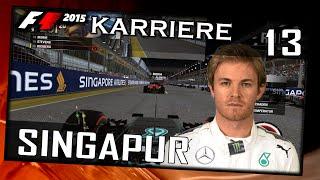 "F1 2015 Challenge #013 Singapur[German|HD+|PC|WHEEL CAM|TV CAM] ""Last to First Season"""