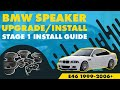 BAVSOUND - BMW 3 Series Coupe / Cabrio - Speaker Upgrade 1/2 -BSW Stage One -E46 '99-06+