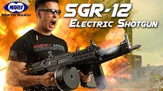 Marui's Mega Makeover – SGR-12 Electric Shotgun - RedWolf Airsoft RWTV
