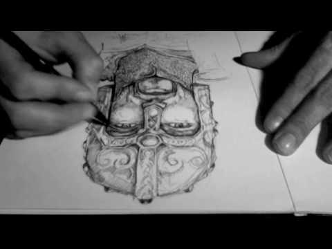 Speed concept art pencil illustration by jeremy beswick studio600