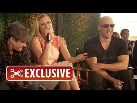 Riddick Nerd HQ Exclusive Panel  Vin Diesel, Katee Sackhoff, David Twohy