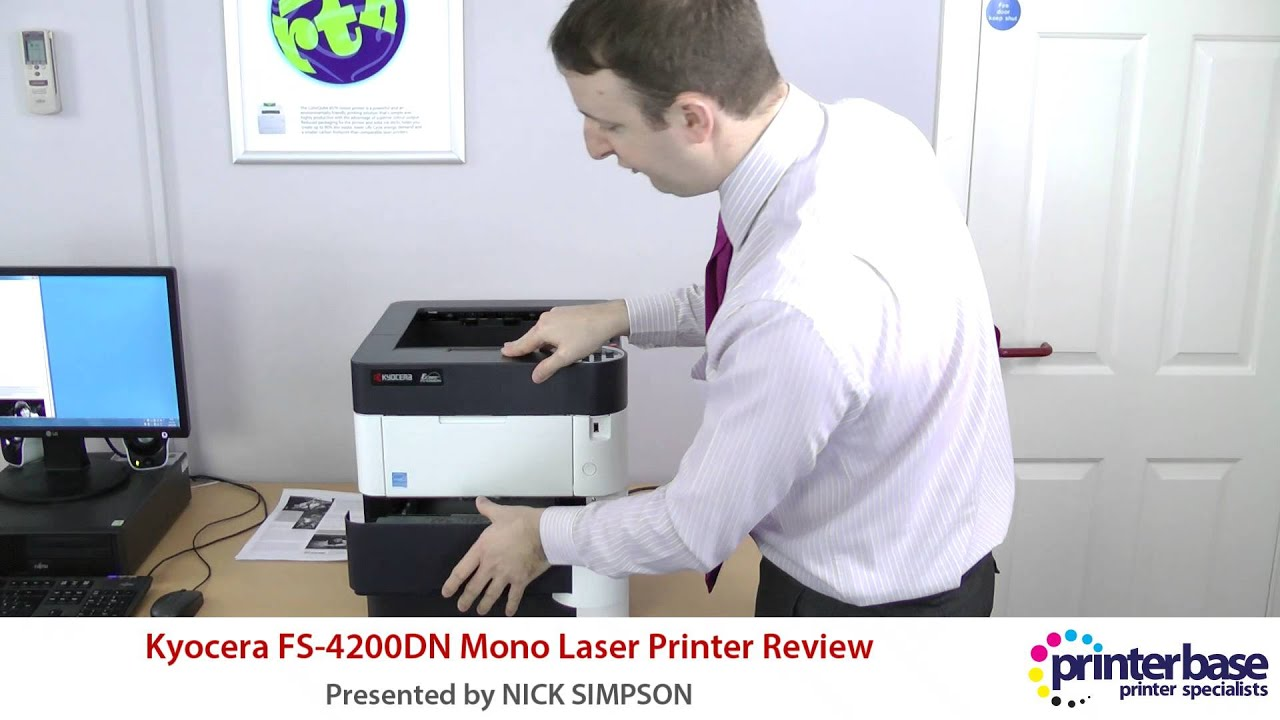 Kyocera ECOSYS FS-4200DN Printer KX Download Driver