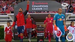 Chivas 1 0 Red Bulls  Semifinal  Da Concachampions 04042018