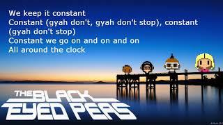 # The Black Eyed Peas - CONSTANT Pt. 1 & 2  feat. Slick Rick, Will i am official lyrics video :)