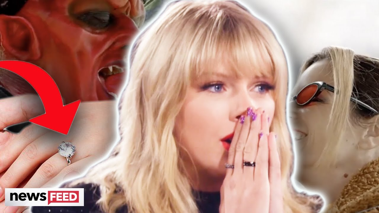 Did Taylor Swift's New 'Love Story' Reveal She's ENGAGED?!?