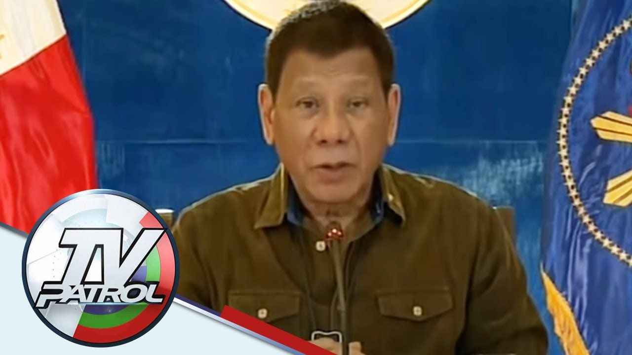 Download Duterte pinaiimbestigahan ang buong pamahalaan dahil sa korupsiyon | TV Patrol