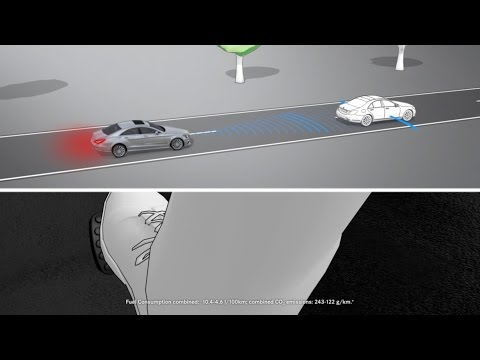 The cls collision prevention assist plus mercedes benz for Mercedes benz assist