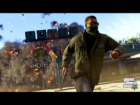 Grand Theft Auto V (GTA 5) Game Movie All...