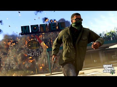 Grand Theft Auto V (GTA 5) Game Movie All Cutscenes Xbox One 1080p HD