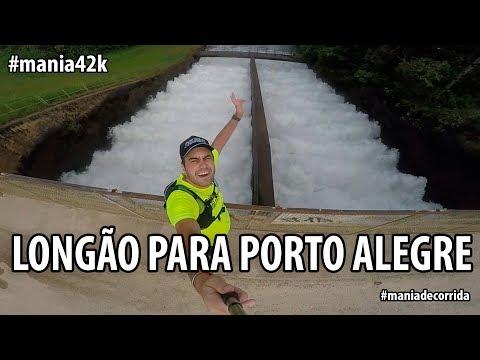 Treino Longo para a Maratona de Porto Alegre