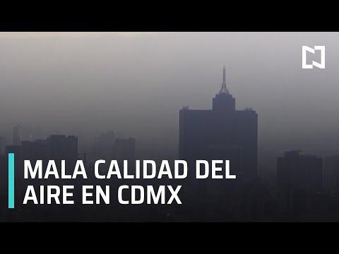 Valle de México registra mala calidad de aire - Las Noticias