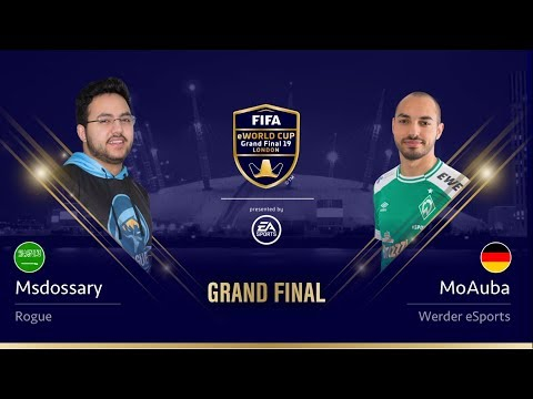 Msdossary vs MoAuba - Grand Final - FIFA eWorld Cup 2019