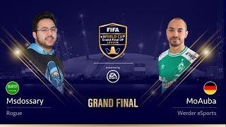 Msdossary vs MoAuba - Grand Final - FIFA eWorld Cup 2019