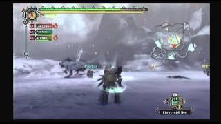 Monster Hunter Tri (Wii) - Capture a Great Baggi