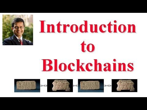 Introduction to Blockchains