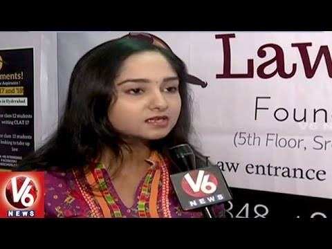 NALSAR University irl Wins Youth Entrepreneur Award 2016 | Law School 101 | Hyderabad | V6News