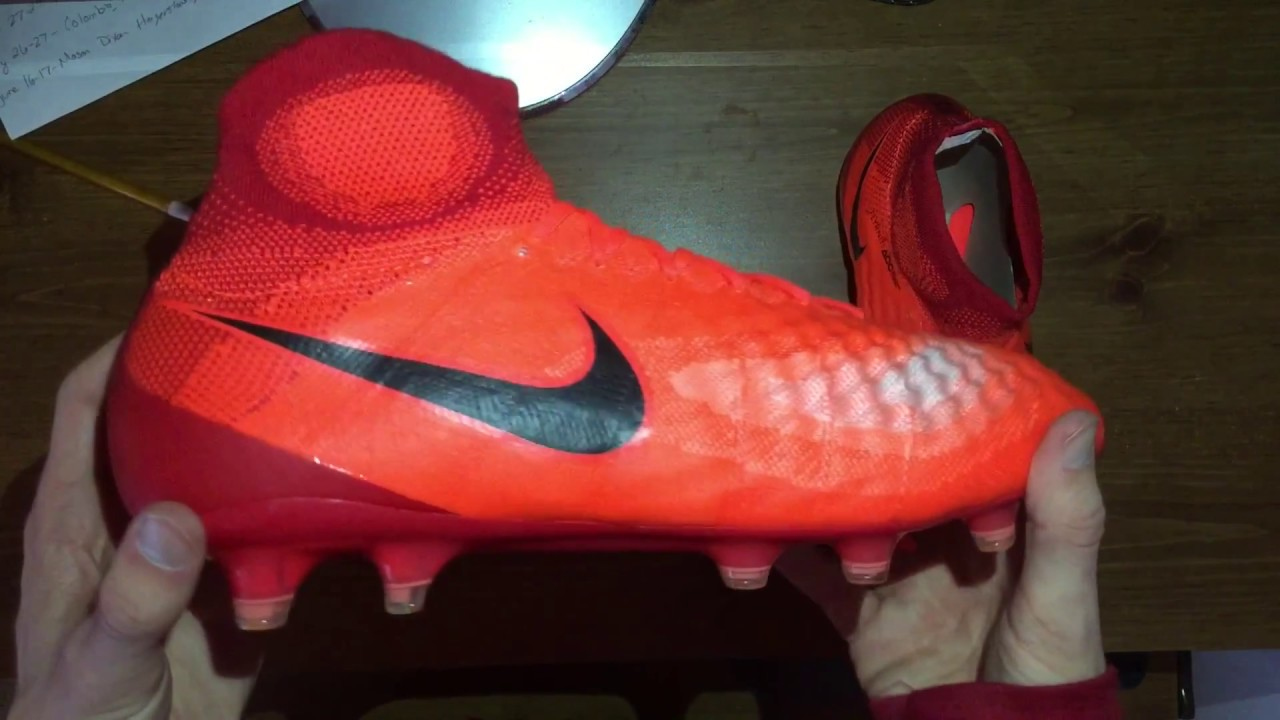 3b07350b4485 Nike Magista Obra II FG Total Crimson Unboxing - YouTube