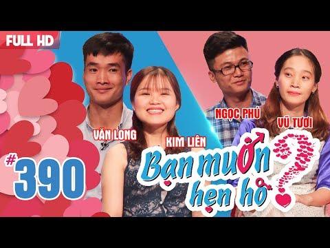 WANNA DATE| EP 390 UNCUT| Van Long - Kim Lien | Ngoc Phu - Vu Tuoi | 040618 💖