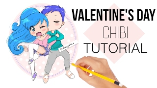 💁🏻HOW TO DRAW - VALENTINE