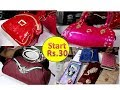 ladies purse wholesale market sadar bazar new delhi//handbags market