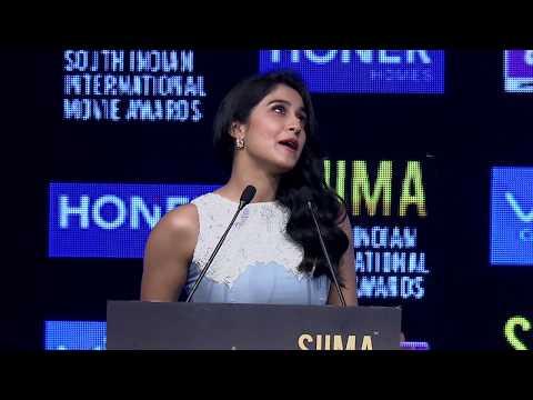 Regina Cassandra at SIIMA 2017 Hyderabad Press Conference