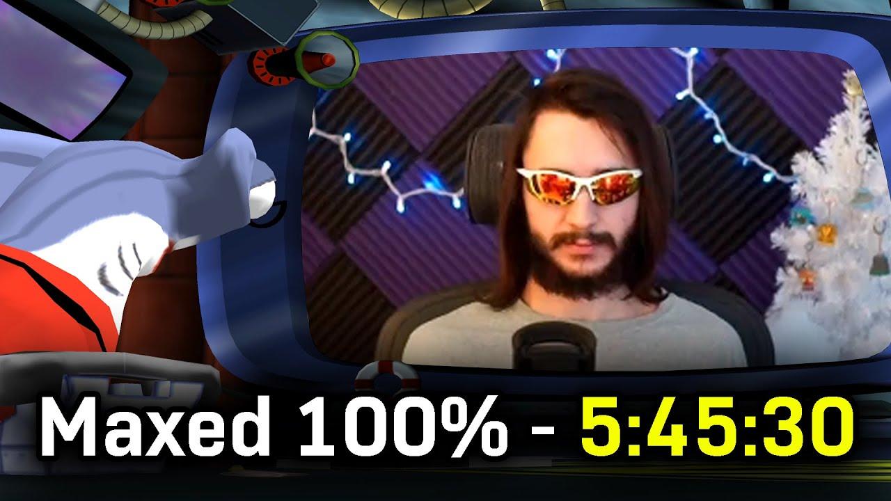 "SpongeBob SquarePants: Lights, Camera, Pants! - Max Difficulty 100% ""Speedrun"" in 5:45:30"