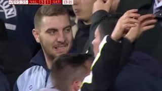 the Last 7 minutes of Valencia 3-1 Getafe Copa del Rey 29/01/2019