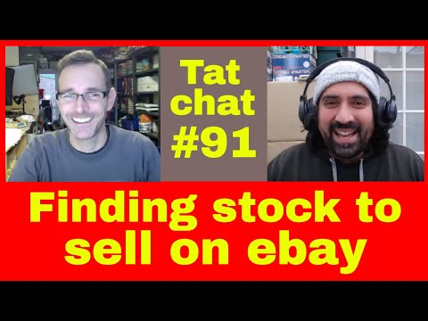 Tat Chat #91 - Sourcing enough stock... reselling on ebay & Amazon