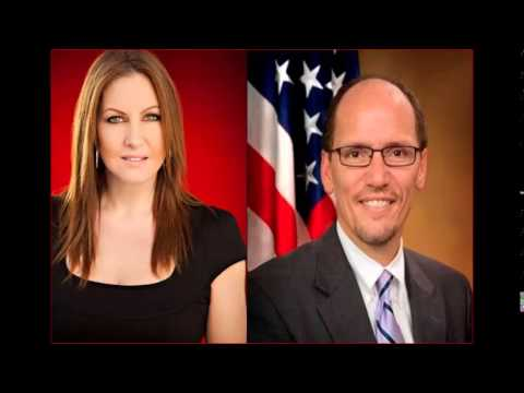 Leslie Marshall interviews U.S. Labor Secretary Thomas Perez on Jobs Report