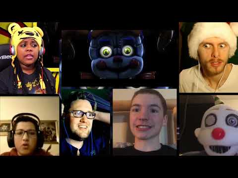 """(SFM) ENNARD SONG """"Nightmare by Design"""" by TryHardNinja & Hipsta Clique [REACTION MASH-UP]#241"""