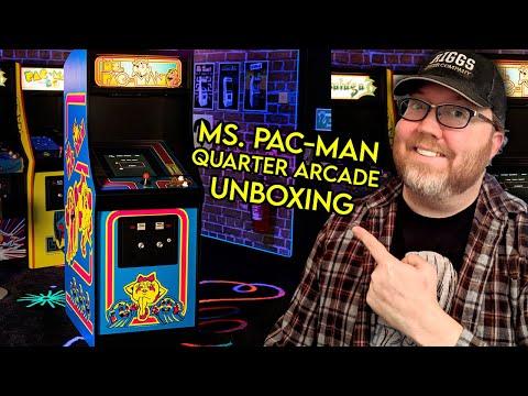 Ms. Pac-Man Quarter Arcade - Unboxing
