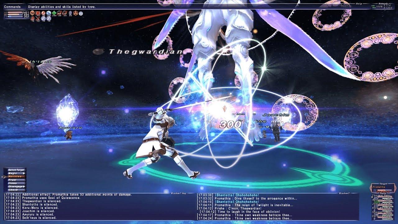 Let's Play Final Fantasy XI - Chains of Promathia - Promathia fight