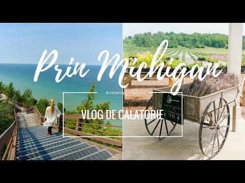 Vlog de calatorie | O zi prin nordul statului Michigan