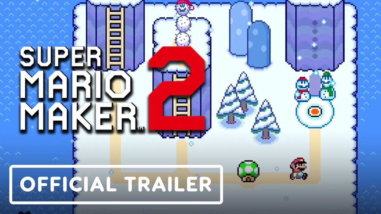 Super Mario Maker 2 - Tráiler oficial de actualización de World Maker + vídeo