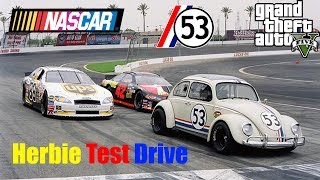 GTA V: Herbie Fully Loaded Nascar Style Test Drive Gameplay