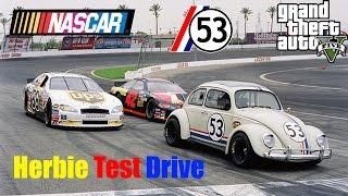 GTA V: Herbie Fully Loaded Nascar Style Test Drive Gameplay
