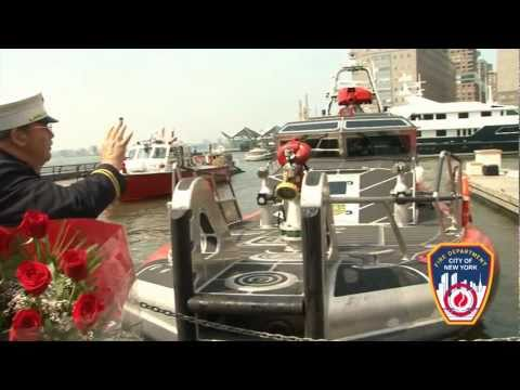 New FDNY Fireboat, Bravest, Christened and Commissioned