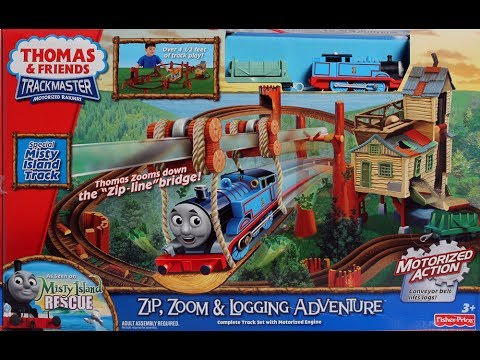 Thomas And Friends Trackmaster Zip Zoom Logging Adventure Toby