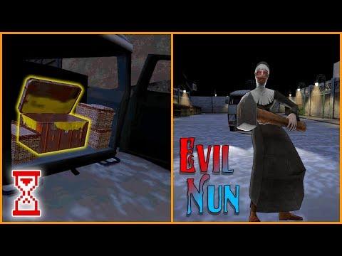 Эксперимент Залезть в ящик при монахине   Evil Nun 1.3.2