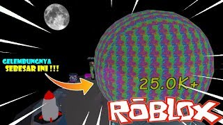 GO OUTER SPACE for GIANT BUBBLE gum in ROBLOX!