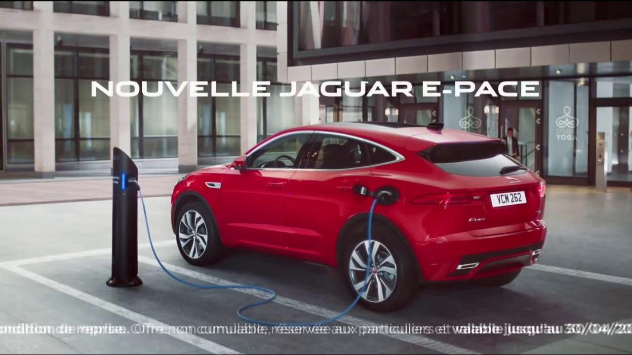 """Musique de la pub Nouvelle Jaguar E-Pace """"hybride rechargeable – Flexfuel e85 – Mhev""""  Mai 2021"""
